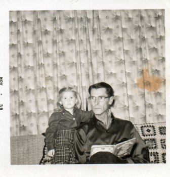 Ruth (age 2) & Roy (age 45)