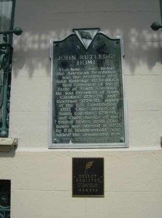 The John Rutledge Home