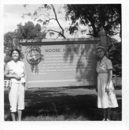 Becky & Ruth in 1958