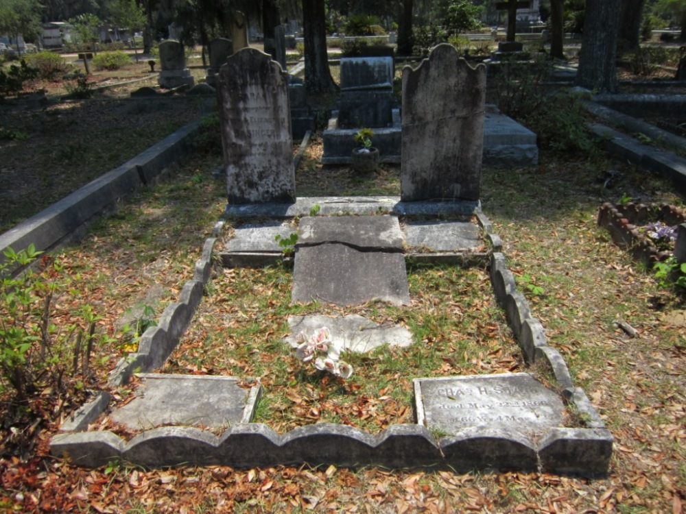 The Starr Family Plot in Bonaventure Cemetery, Savannah, GA (5/6)
