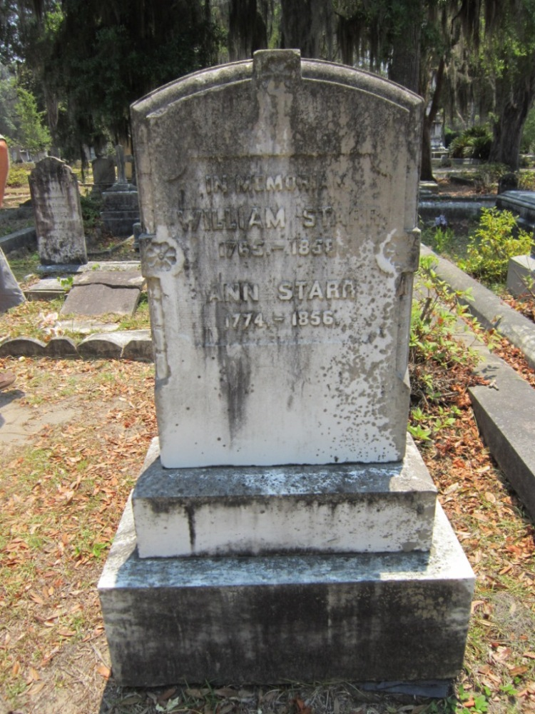 The Starr Family Plot in Bonaventure Cemetery, Savannah, GA (4/6)