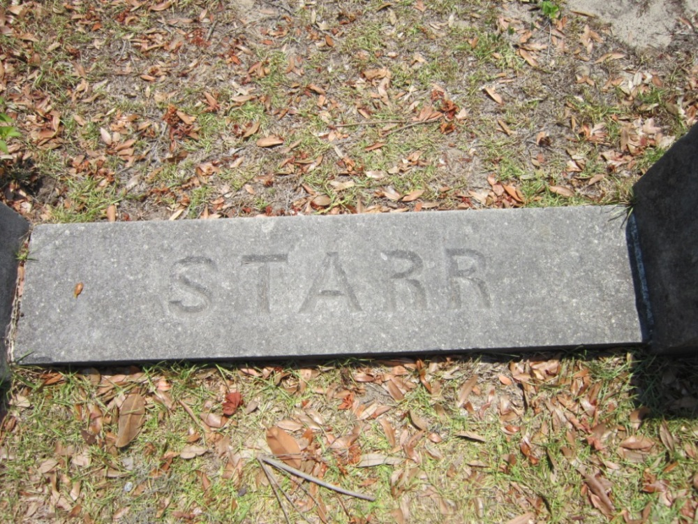 The Starr Family Plot in Bonaventure Cemetery, Savannah, GA (2/6)