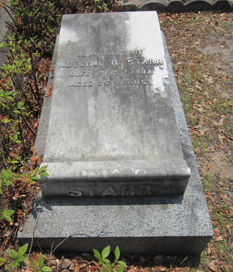 The Starr Family Plot in Bonaventure Cemetery, Savannah, GA (3/6)