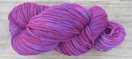 Dyeing Yarns At Catcatcher Corner, Part 4; Or Plum Delicious (4/6)