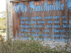 There he is.  Benjamin Smith.  Before it was called Southport, it was called, why, Smithville, of course.