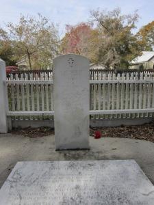 Benjamin Smith's memorial.