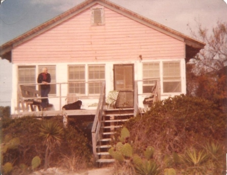 On vacation at Edisto Island, perhaps in the 1970s.