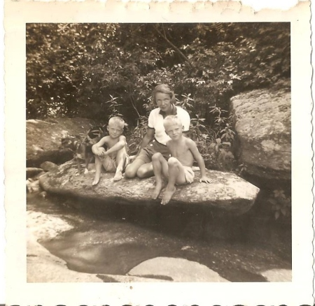 In the mountains of North Georgia.  Perhaps around the mid-1950s.