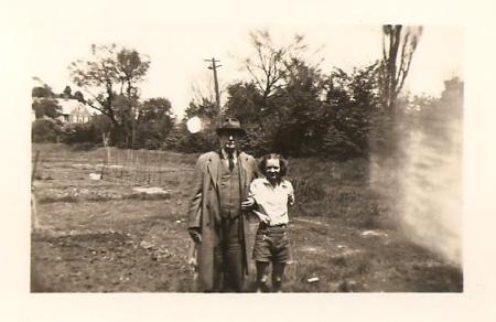 With Erastus Hewitt in Connecticut.  He was a neighbor of Robert Frost.