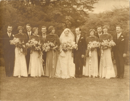 Someday I'll know who all these people are.  Until then, we have Betsy and Edward P. Lawton, Jr.