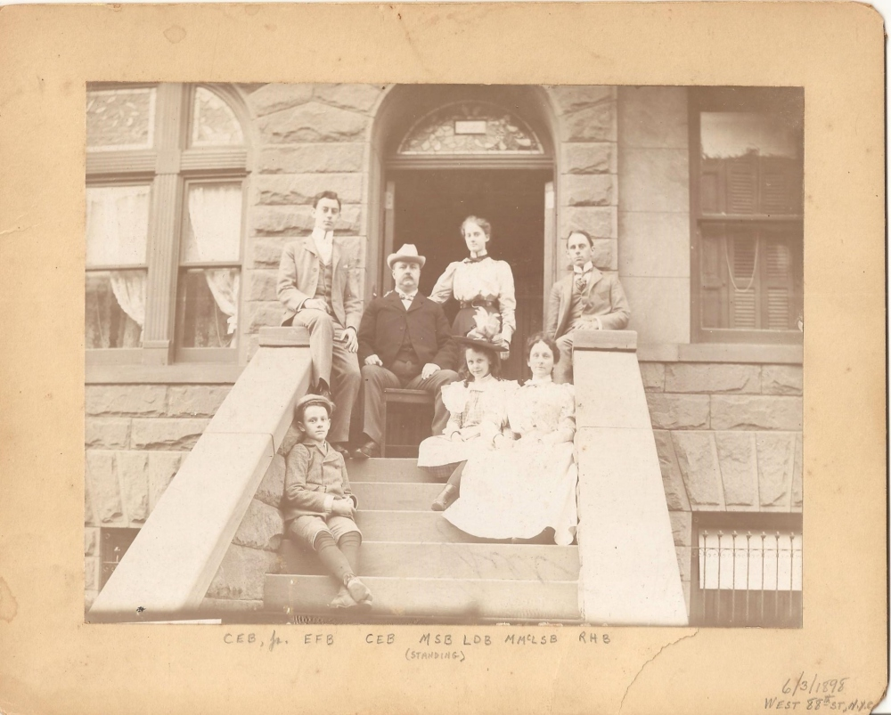The Gold Mine in the Closet:  The Family of Charles Edward Wagstaff Bateson (1/3)
