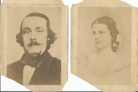 William Starr Basinger and Margaret Roane Garnett.