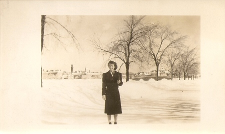 In Atlanta about 1940.