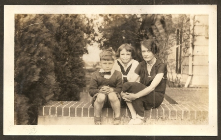 Sugar's Aunt Margaret with her children Billy and Mary.