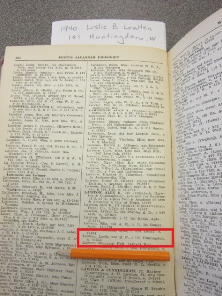 1940 LawtonLeslieB 101 Huntingdon W