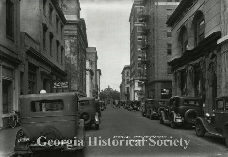 Drayton Street North From Congress