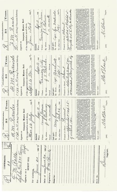 RawlsFrancisMarion Service Record and Pension Request 002