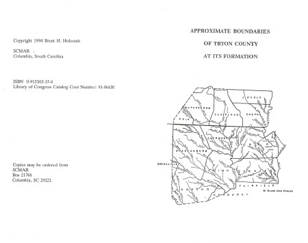 McCords in Tryon County Minutes 1769-17790002