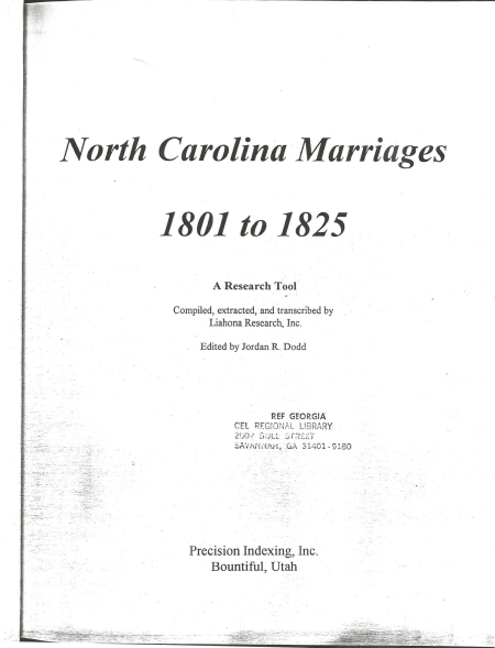 McCords & Yandells 1801-1825 Marriages0001