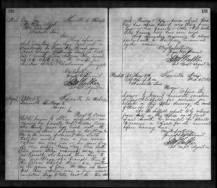 3-26-1867 Drew looking for family