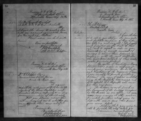 SharpChildren 8-16-1866 and 8-20-1866